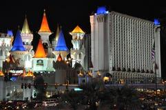 Hotel y casino de Excalibur en Las Vegas Fotos de archivo libres de regalías
