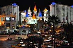 Hotel y casino de Excalibur en Las Vegas Imagenes de archivo