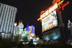 Hotel y casino de Excalibur en Las Vegas Imagen de archivo