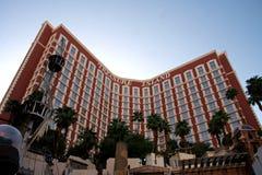 Hotel y casino de la isla del tesoro Imágenes de archivo libres de regalías