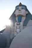 Hotel y casino de Luxor imagenes de archivo