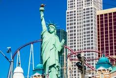 Hotel y casino de Nueva York Nueva York Foto de archivo libre de regalías