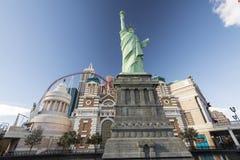 Hotel y casino de Nueva York Nueva York Fotografía de archivo libre de regalías