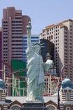 Hotel y casino de Nueva York Nueva York en Las Vegas Imagen de archivo