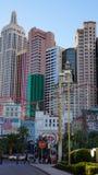 Hotel y casino de Nueva York Nueva York en Las Vegas Imagen de archivo libre de regalías