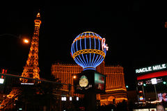 Hotel y casino de París Fotos de archivo