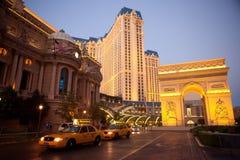 Hotel y casino de París Las Vegas Imagen de archivo libre de regalías