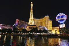 Hotel y casino de París Las Vegas Fotografía de archivo