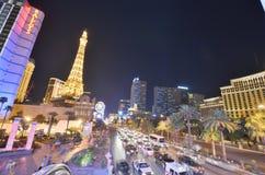 Hotel y casino de París, París Las Vegas, hotel y casino, zona metropolitana, ciudad, zona urbana, paisaje urbano de Bellagio imágenes de archivo libres de regalías