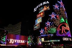 Hotel y casino de Riviera Fotos de archivo libres de regalías