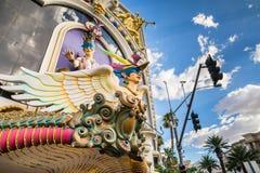 Hotel y casino, Las Vegas de Harrahs Imágenes de archivo libres de regalías