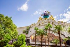 Hotel y casino, Las Vegas de Harrahs Imagen de archivo