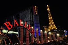Hotel y casino - Las Vegas, los E.E.U.U. de Ballys Imagenes de archivo