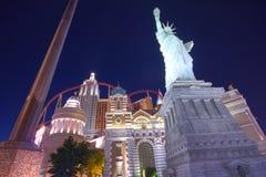 Hotel y casino Nueva York de Vegas Imagenes de archivo
