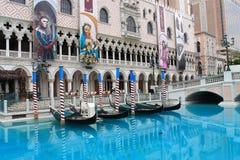 Hotel y casino venecianos Fotografía de archivo
