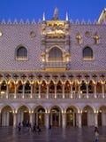 Hotel y casino venecianos hermosos en Las Vegas Foto de archivo