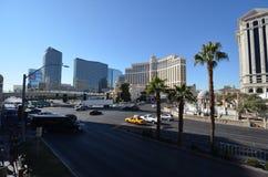 Hotel y casino, zona metropolitana, ciudad, zona urbana, coche de Bellagio fotos de archivo libres de regalías
