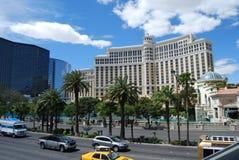 Hotel y casino, zona metropolitana, ciudad, zona urbana de Bellagio, construyendo imagen de archivo