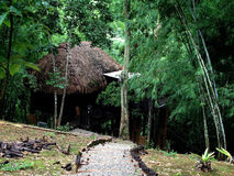 Hotel y centro turístico tailandeses - Rai Saeng Arun Fotos de archivo libres de regalías