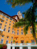 Hotel y jardines, Coral Gables Florida de Biltmore Fotografía de archivo