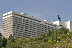 Hotel Yalta in Crimea Royalty Free Stock Images
