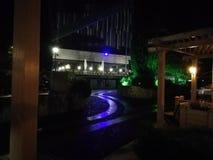 Hotel Yalta Intourist, nachtschot stock foto's