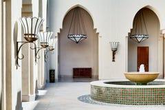 Hotel Yard Royalty Free Stock Image