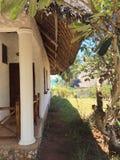 Hotel in Zanzibar. Exotic hotel in Zanzibar. Africa Stock Photography