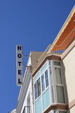 hotel znak Zdjęcie Stock