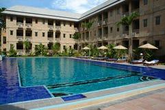 Hotel zwembad Stock Fotografie