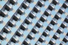 Hotelbalkon Pattaya-Rücksortierung Lizenzfreie Stockfotografie