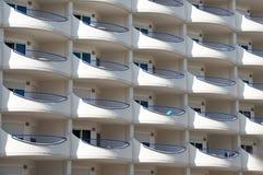Hotelbalkons Royalty-vrije Stock Fotografie
