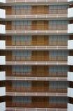Hotelbalkons Royalty-vrije Stock Foto's