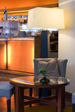 Hotelbar Royalty-vrije Stock Foto