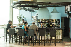Hotelbar Havana Royalty-vrije Stock Foto