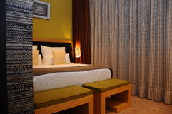 Hoteldoppelzimmer Lizenzfreies Stockfoto