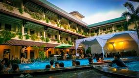 Hotele na specjalnym regionu jogja w indonezyjczyku zdjęcie stock