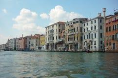 Hotele Wykładają kanał grande Wenecja Obrazy Royalty Free