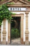 Hoteleingang Stockfoto