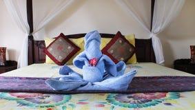 Hotelerholungsort in Asien stockbild