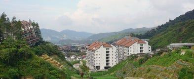 Hotelerholungsort in Cameron Highlands Lizenzfreies Stockfoto