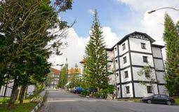 Hotelerholungsort in Cameron Highlands Stockbild