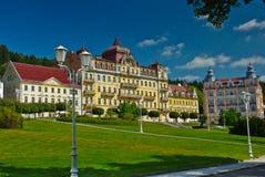 Hoteles de centro turístico de salud de Marianske Lazne Fotos de archivo