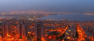 Hoteles de centro turístico en Eilat Foto de archivo libre de regalías