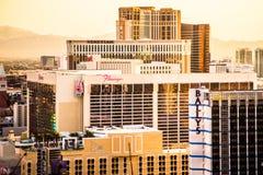 Hoteles de Las Vegas Fotos de archivo libres de regalías