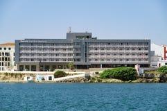 Hoteles de lujo en Menorca, España Imagenes de archivo