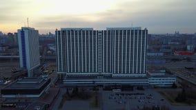 Hoteles de Moscú almacen de video