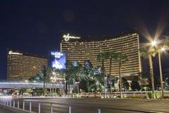 Hoteles de Vegas y casinos Wynn y repetición Imágenes de archivo libres de regalías