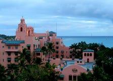 Hoteles en Hawaii Imagen de archivo libre de regalías