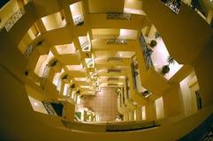 Hoteles interiores Foto de archivo libre de regalías